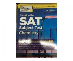 Princeton Review- Cracking the SAT Subject Test-Chemistry