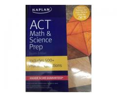 Kaplan-ACT Maths & Science Prep-4th Edition