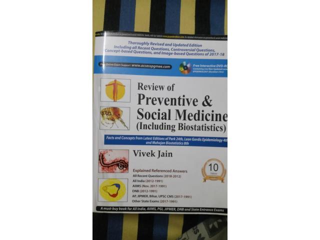 Review of preventive and social medicine including biostatistics