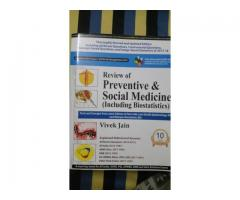 Review of preventive and social medicine including biostatistics