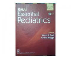 Ghai essential paediatrics