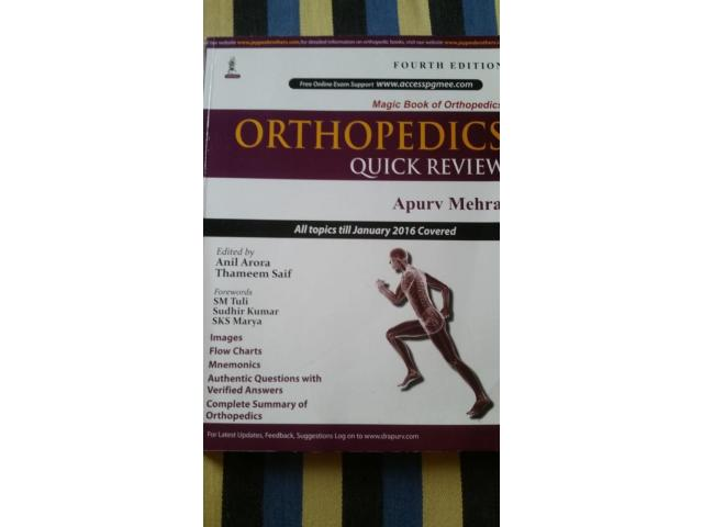 Orthopaedics quick review