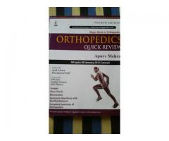 Orthopaedics quick review