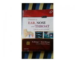 Diseases of ear nose and throat and head and neck surgery