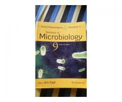 Ananthanarayan and Paniker's textbook of microbiology