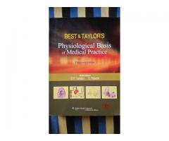 Best and Taylor's physiological basis of medical Practise