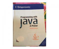 Programming with Java by E Balaguruswamy - Fourth Edition