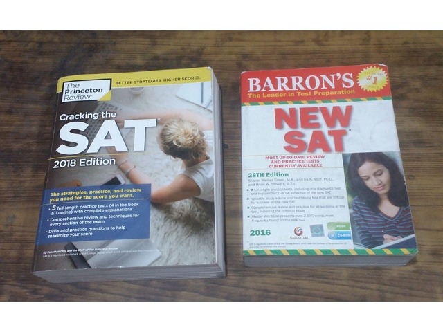 SAT PREPARATORY BOOKS