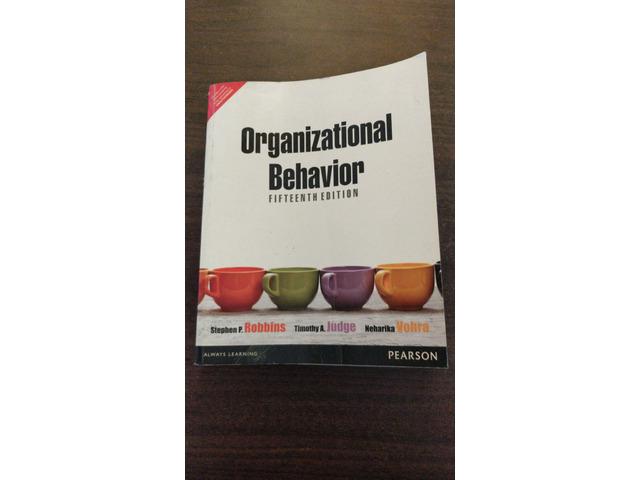 Organizational Behavior by Stephen Robbins