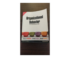 Organizational Behavior by Stephen Robbins